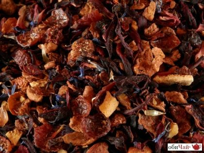 Christmas fruit tea Almond
