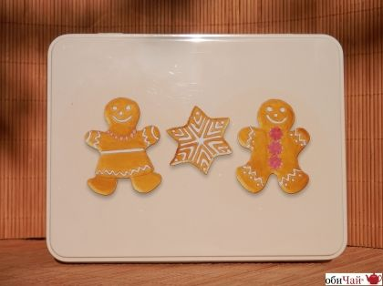 "Biscuit box ""Gingerbread"""