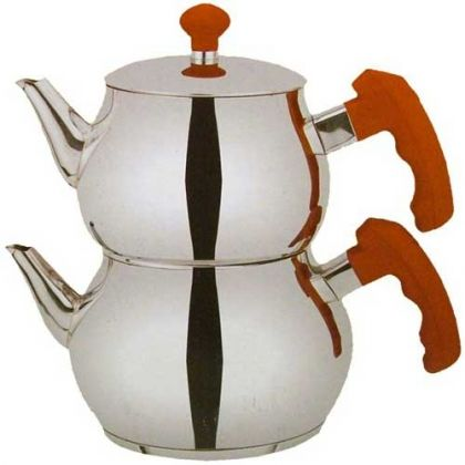 Set Turkish teapots