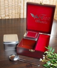 "Gift Set ""Tea Secrets"" + 2 tea boxes"